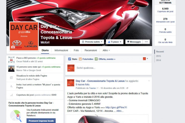 day car lexus toyota facebook
